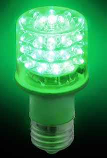 Green E26-based Beacon Bulb