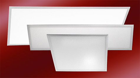 New Tunable & Multimode LED Flat Panel Lights Offer Selectable Wattage & Color Temperature