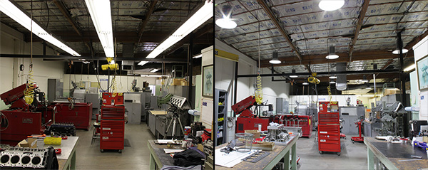 Ed Pink Racing Engines Shop Sees Green With Energy Savings