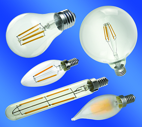 LEDtronics New Filament-Style LED Bulbs Offer Vintage Look While Providing Huge Energy Savings