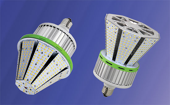 LEDtronics New Conical LED Post Top Lamps Offer Efficiently Focused Lighting