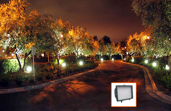 Energy Vortex: LEDtronics, Uplights, Landscape, Security