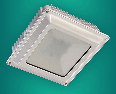 Ledtronics Led Canopy Light For Low Profile Indoor Or