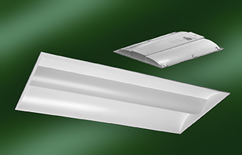 New Tunable & Multimode LED Recessed Troffer Lights Offer Selectable Wattage & Color Temperature