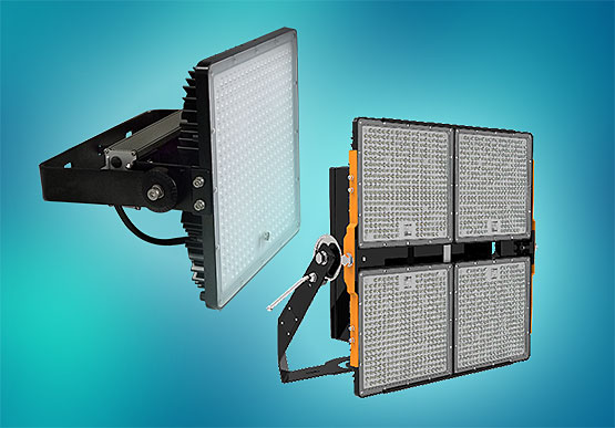 LEDtronics Releases Brighter LED High Mast Flood Lights, Surpassing Previous Technology