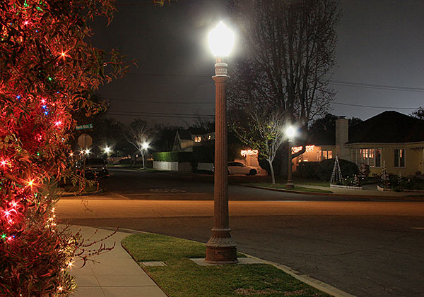 Superb LEDtronics Post Top LED Lamps Provide Traffic And Pedestrian Safety On Residential  Streets Across Pasadena