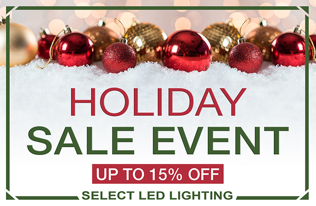 Upcoming HOLIDAY SALE EVENT