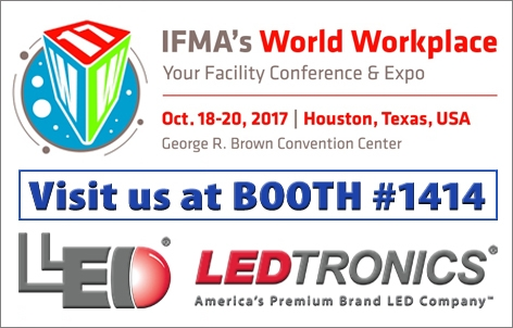 LEDtronics will be at the IFMA