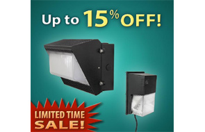 LIMITED TIME SALE on our  Latest Generation LED Wall Packs