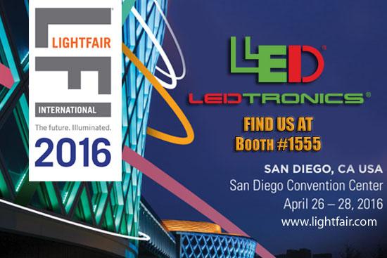 LEDtronics will be at Light Fair International!