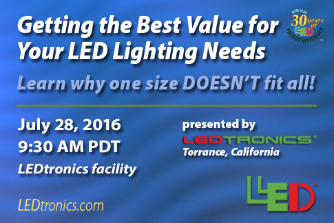 LED Lighting Seminar