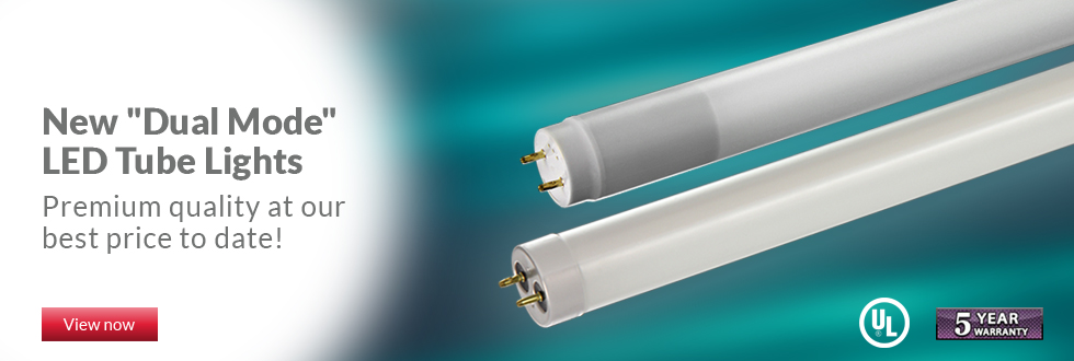 New Dual Mode LED T8 Tube Ligts
