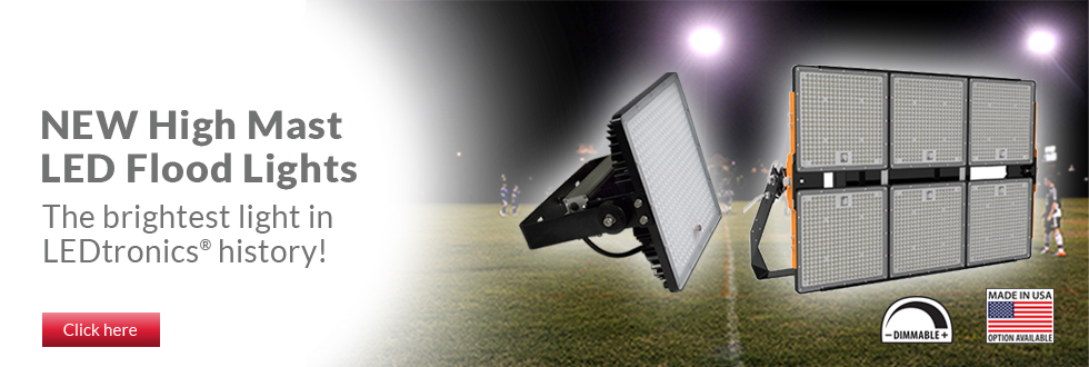 High Mast LED Flood Lights