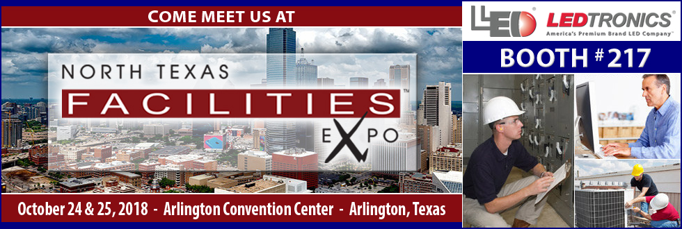 Come meet LEDtronics at the North Texas Facilities Expo