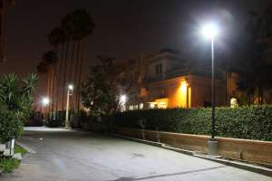 LED Outdoor Flood Light Application