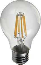 Filament-style LED Bulbs