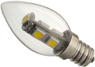 C7 LED Light Bulbs
