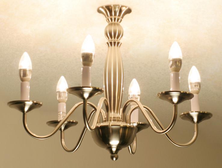 Led Chandelier Bulb Dimmable Flame Tip E12 Candelabra Base