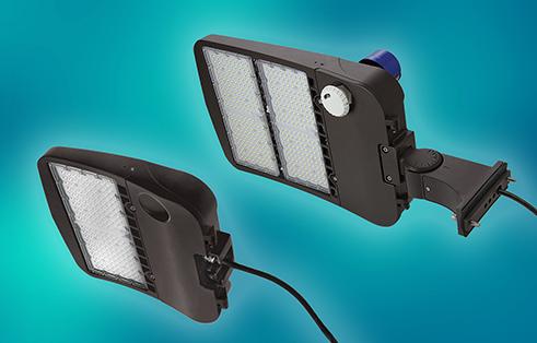 Latest LEDtronics LED 'Blade-style' Shoebox Area Lights Outshine Previous Line