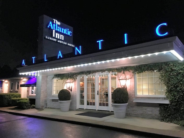 Venerable Atlantic Inn Lights Up with Boutique Makeover