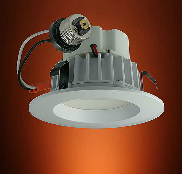 Led Recessed Ceiling 4 Dimmable Can Lights Provide The Upside To Down Lighting
