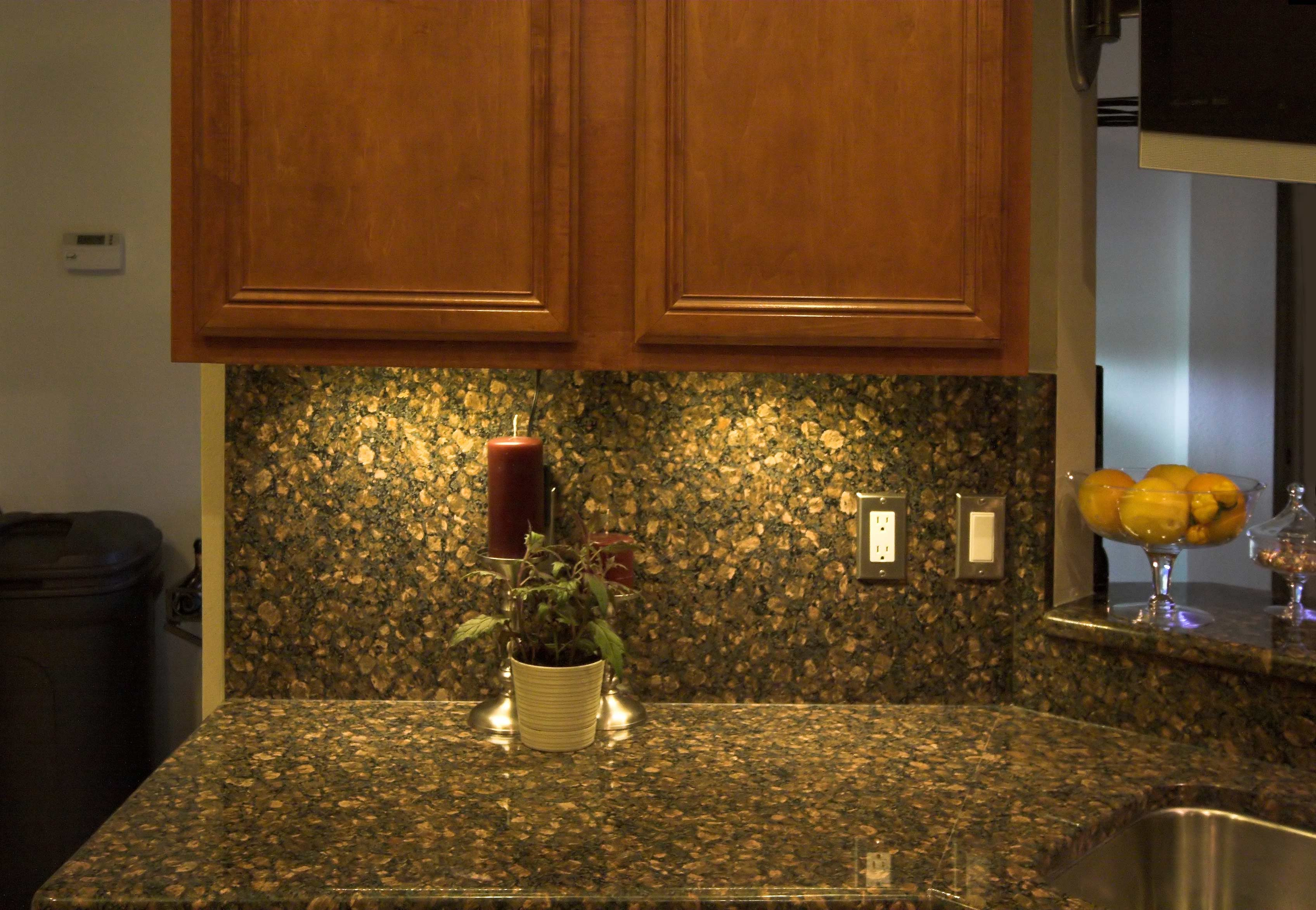 Recessed Kitchen Cabinet Lighting With Energy Saving Led
