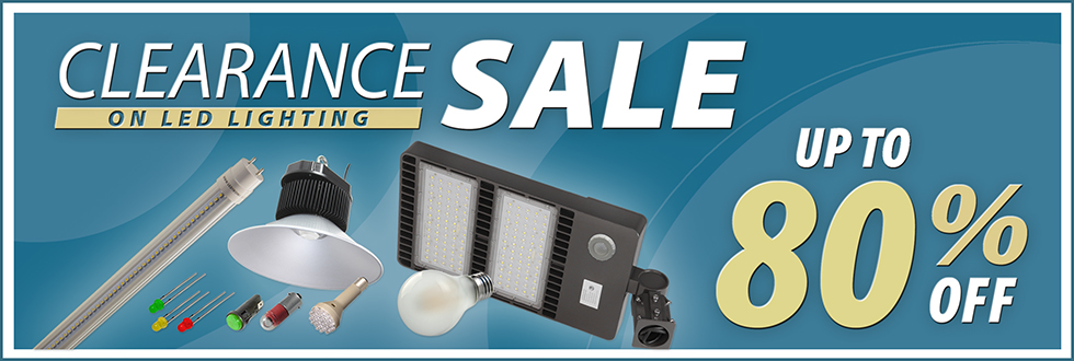 LEDtronics Clearance Sale