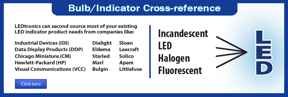 Bulb / Indicator Cross-reference